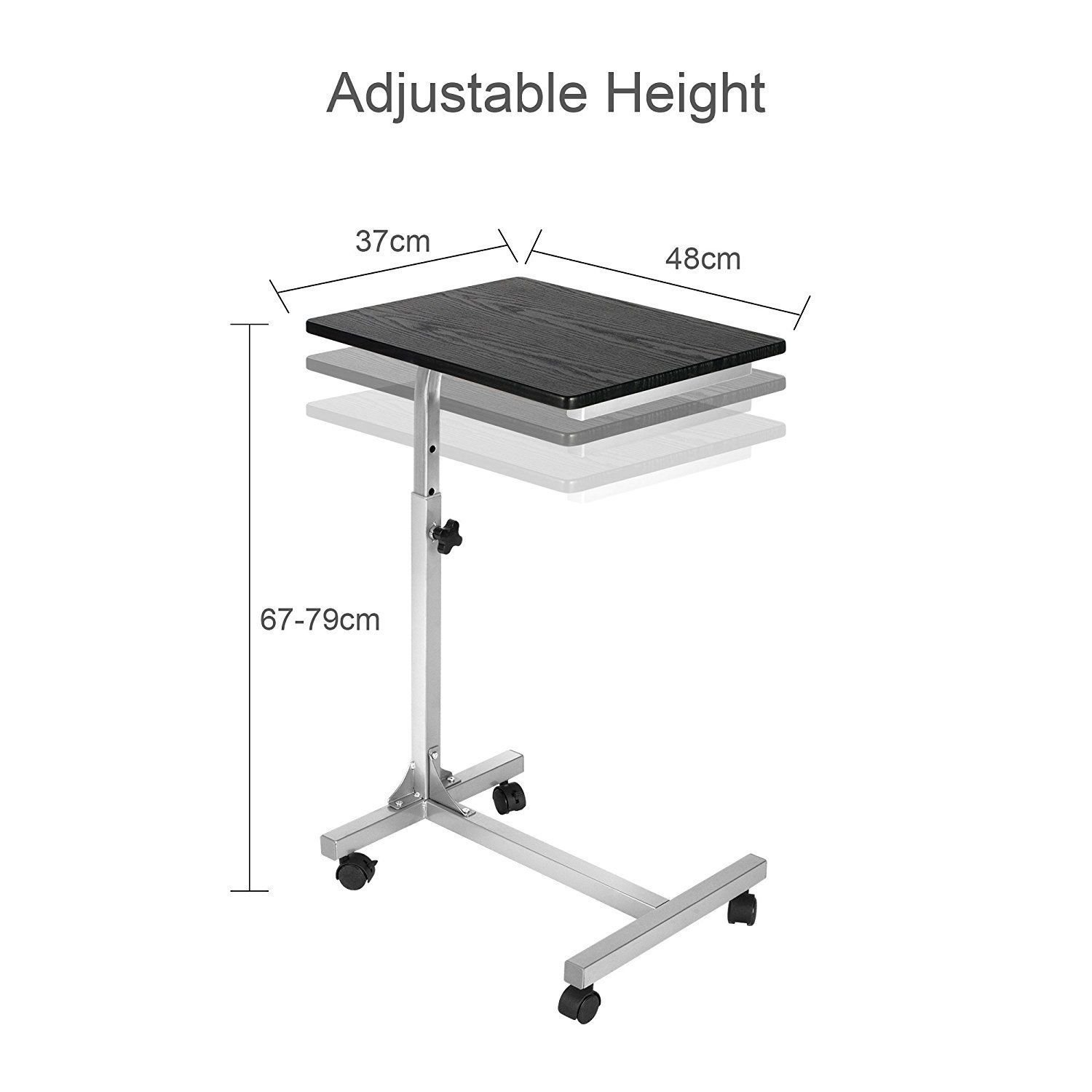Generic Table Black Bed Table able Bl Adjustable Sofa ed Tabl laptop Stand Lapdesks able Black apdesks Portab Portable Height