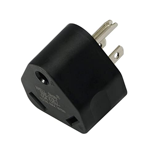 camping caravan & motorhome eu european hook up adapter plug