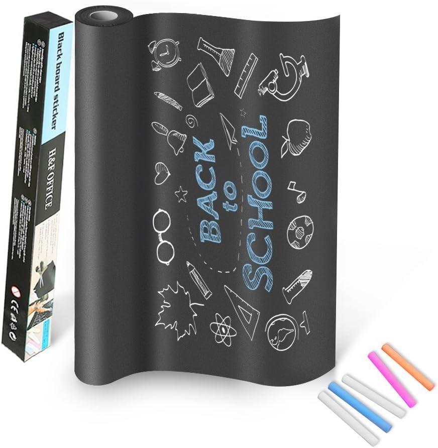 Photo de dutison-stickers-tableau-noir-60cm-x-200cm-grand-tableau