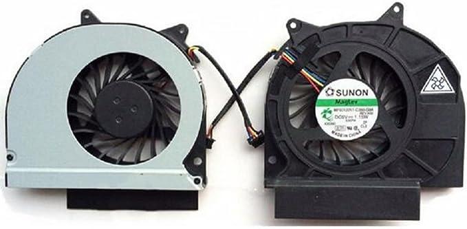 Note-X DNX Ventilateur Compatible pour Ordinateur PC Portable Dell Latitude E6420 MF60120V1-C060-G9A/_0001 Neuf Garantie 1 an Fan