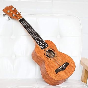 DHGG 21 Pulgadas 23 Pulgadas Ukelele de 26 Pulgadas. Ukelele Color de Madera. Ukelele Chica Principiante. pequeña Guitarra: Amazon.es: Deportes y aire libre