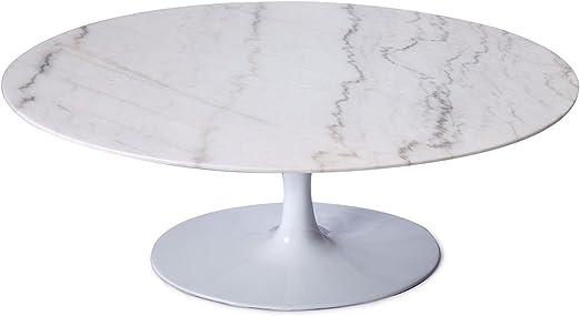 SuperStudio LO+DEMODA Mesas De Comedor Mesa Tulip White Marble ...