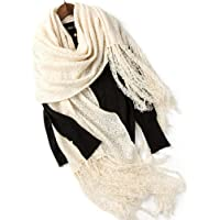 Scarf Round Scarf Wool Solid Color Ladies Shawl Long Soft Multi-function Collar Tassel Scarf Clothing Accessories