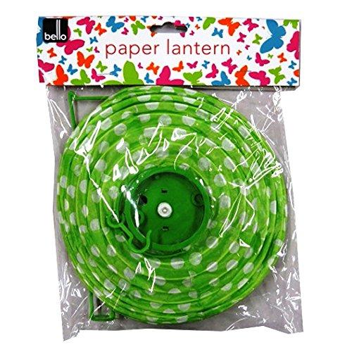 装飾LED Paper Hangingランタン、グリーン   B0753H4JKJ