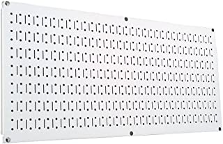 product image for Wall Control Pegboard 16in x 32in Horizontal White Metal Pegboard Tool Board Panel