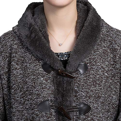 Winter Wrap Shrug Buckle Aperta Lunga A Warm Closed Donna Maniche Zoodq Stole Lunghe Manica gvO8q6