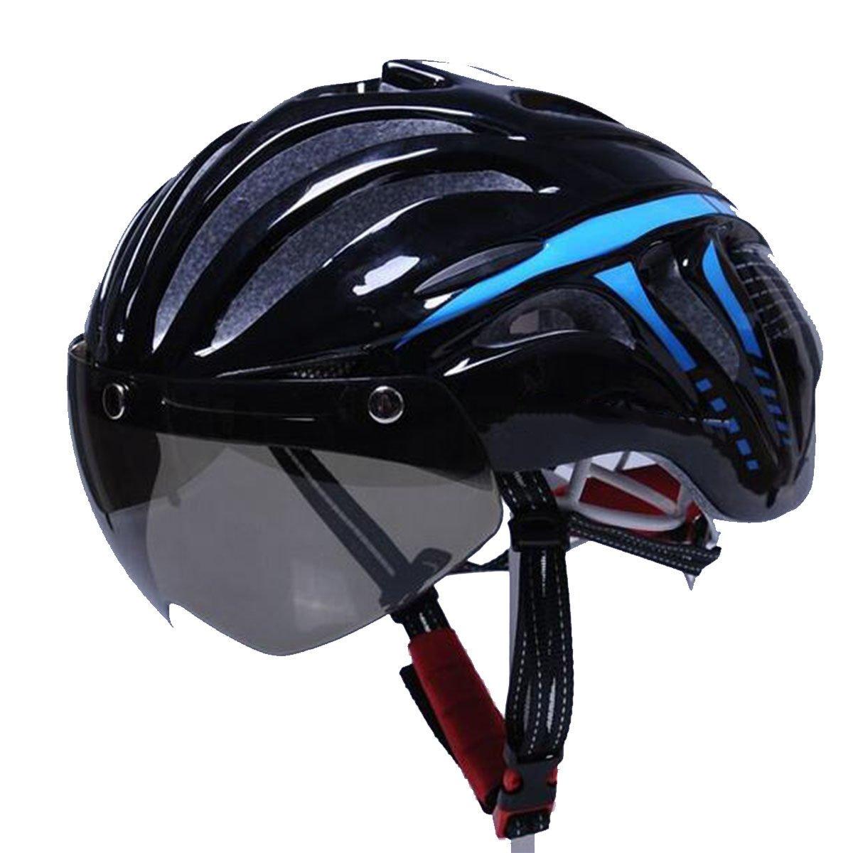 TZQ Männer Und Frauen Rennrad Mountainbike Mit Schutzbrillen Helme
