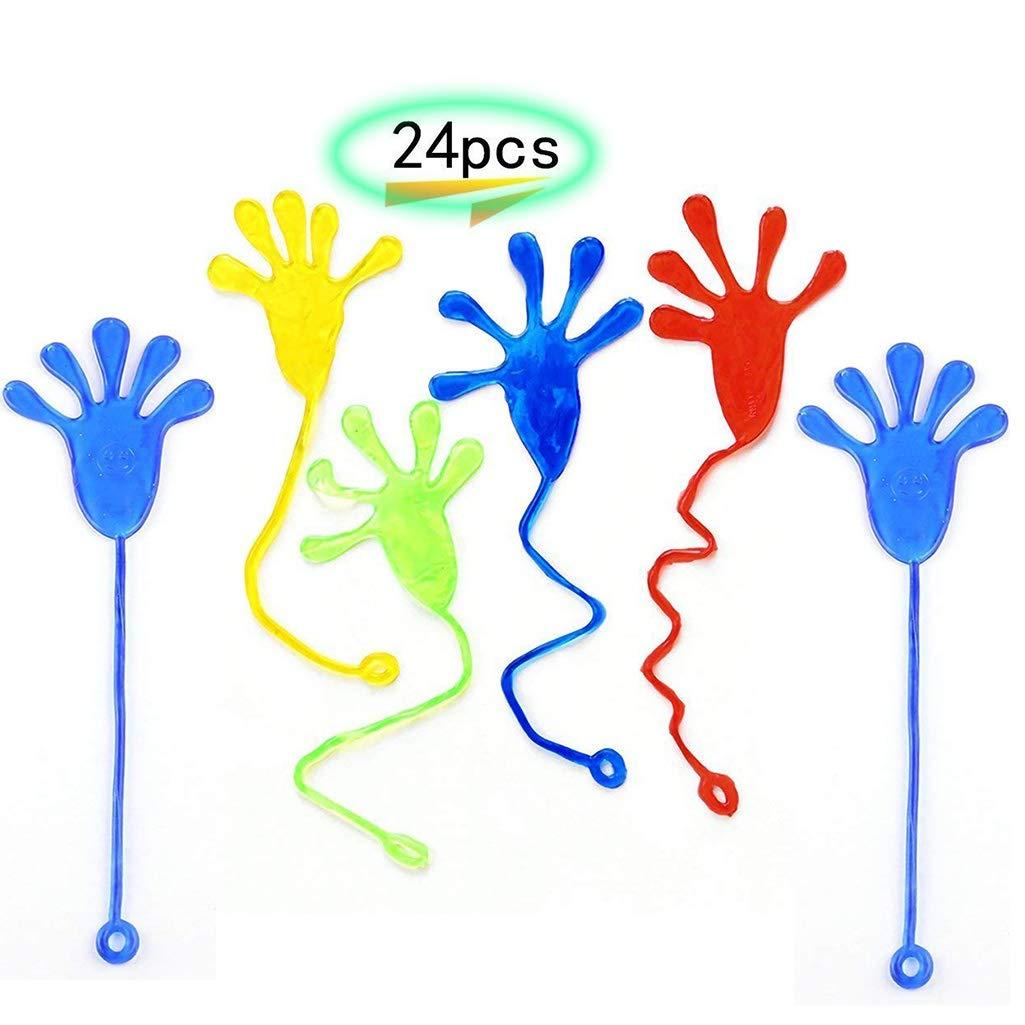 BIEE 24 Stück Sticky Palm Toy Für Geschenk Scherzt Klebrige Hände ...