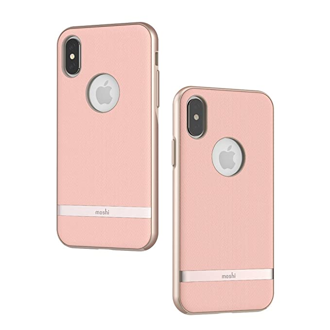 best sneakers 4247d af521 Amazon.com: Moshi Vesta for iPhone X - Protective Fabric Case ...