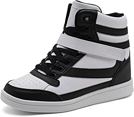Ladies Ankle Boots Womens Hi Tops Winter Casual Lace Up Trainers Dance Shoes Siz