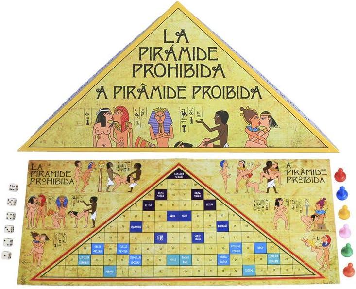 Juego Mesa Erótico La Piramide Prohibida- Secret Play: Amazon.es ...