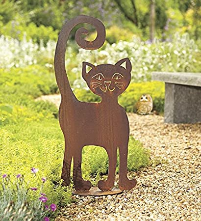 Genial U0026quot;That Catu0026quot; Metal Cat Garden Sculpture