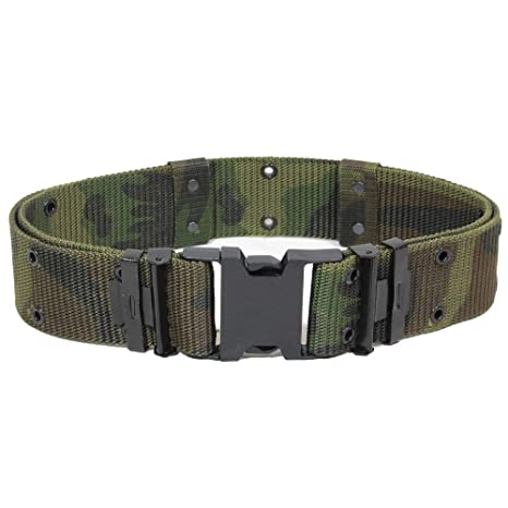 Ceinture   Ceinturon Militaire Us Army Lc2 Camouflage Foret Reglable Taille  L 13310020 Airsoft 41eadafeab6