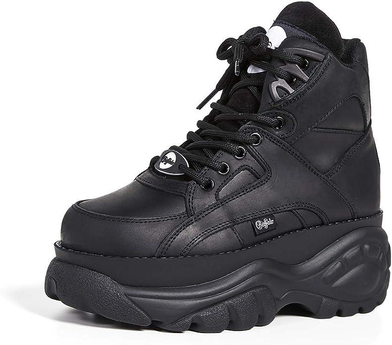 Buffalo London Damen 1340 14 Sneaker Amazon De Schuhe Handtaschen