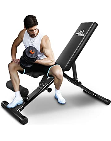Peachy Workout Benches Weight Benches Amazon Com Machost Co Dining Chair Design Ideas Machostcouk