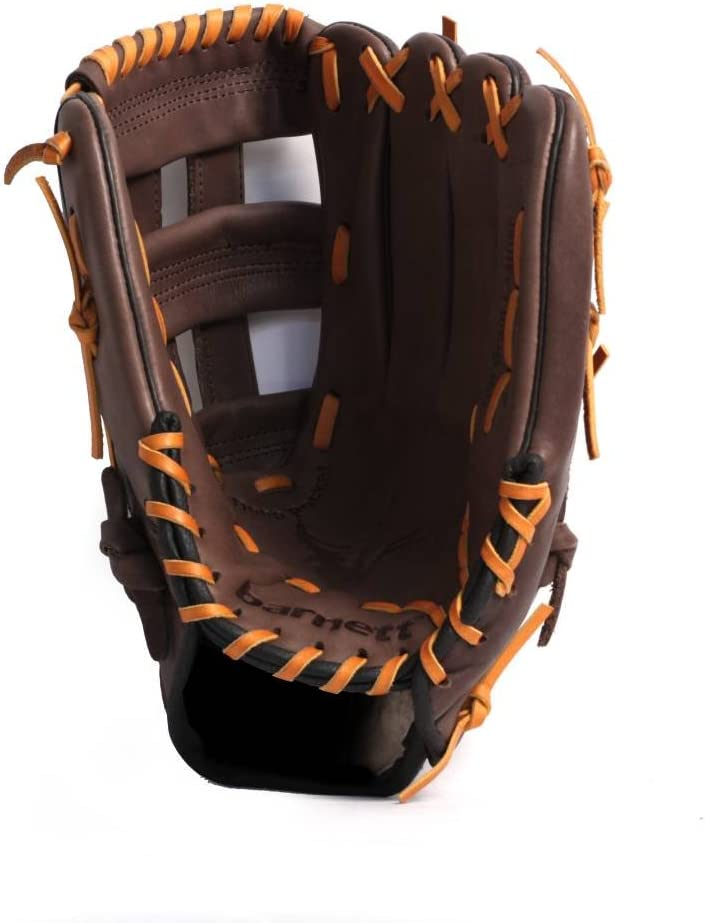 outfield 12.5 BARNETT GL-125 Competition baseball glove Brown genuine leather