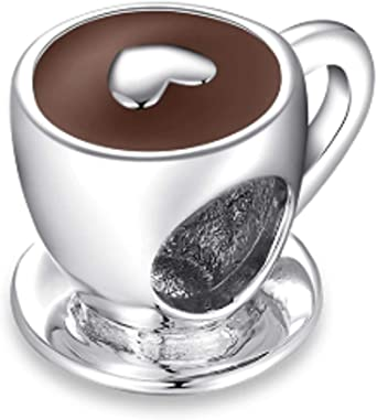 Cup Of Coffee Charm Pendant