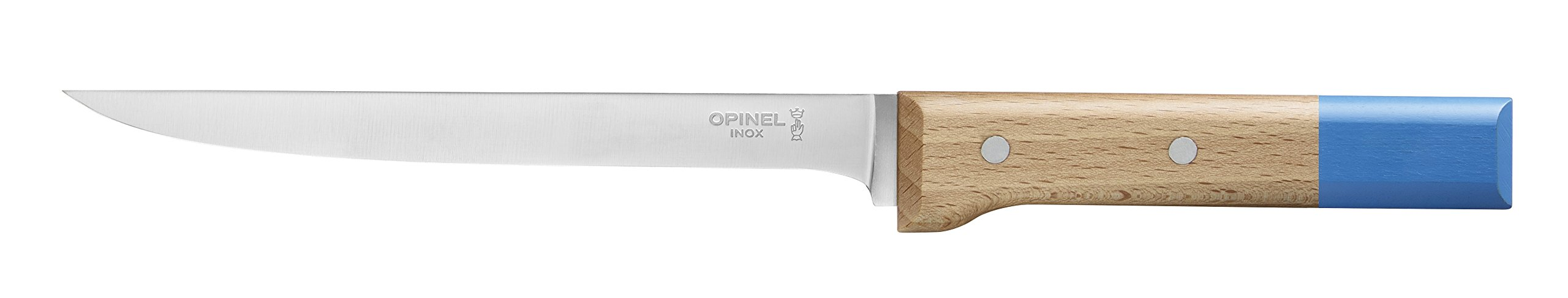 Opinel No 121 Parallele Pop Stainless Steel Fillet Knife