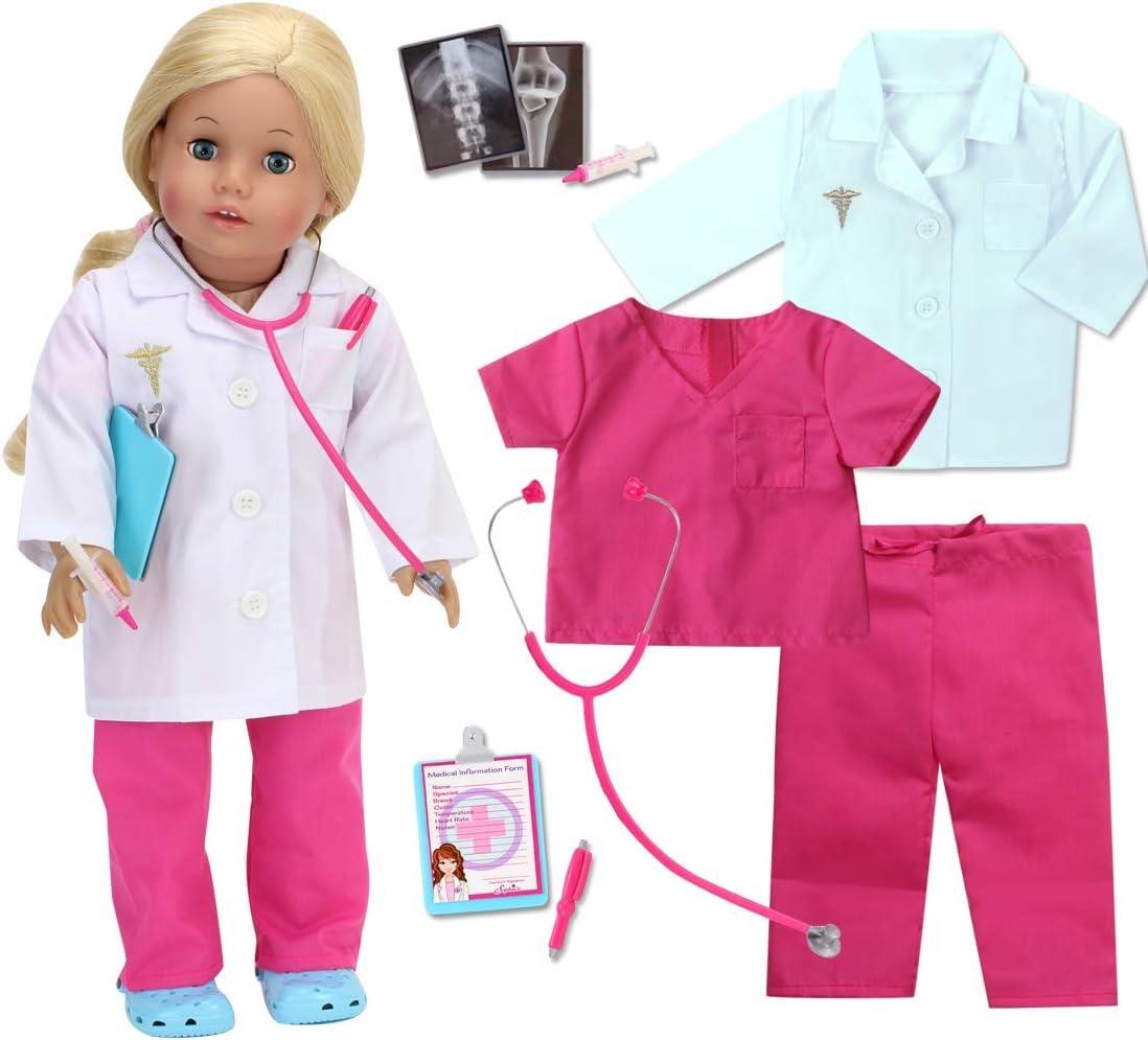 18 Doll American Girl Nurses Scrubs