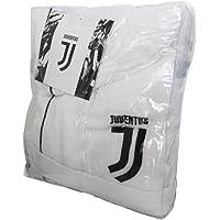 FC Juventus Logo 2017/18- albornoz con capucha, producto oficial, para niños de 6, 8, 10, 12, y 14 años. Negro. 100…
