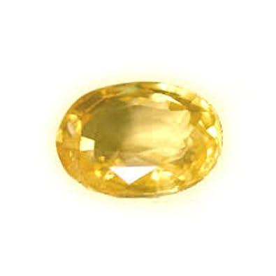 34fb3aa838db6 Buy Certified Natural Yellow Sapphire Gemstone 7.25 Ct. Ceylon Mines ...