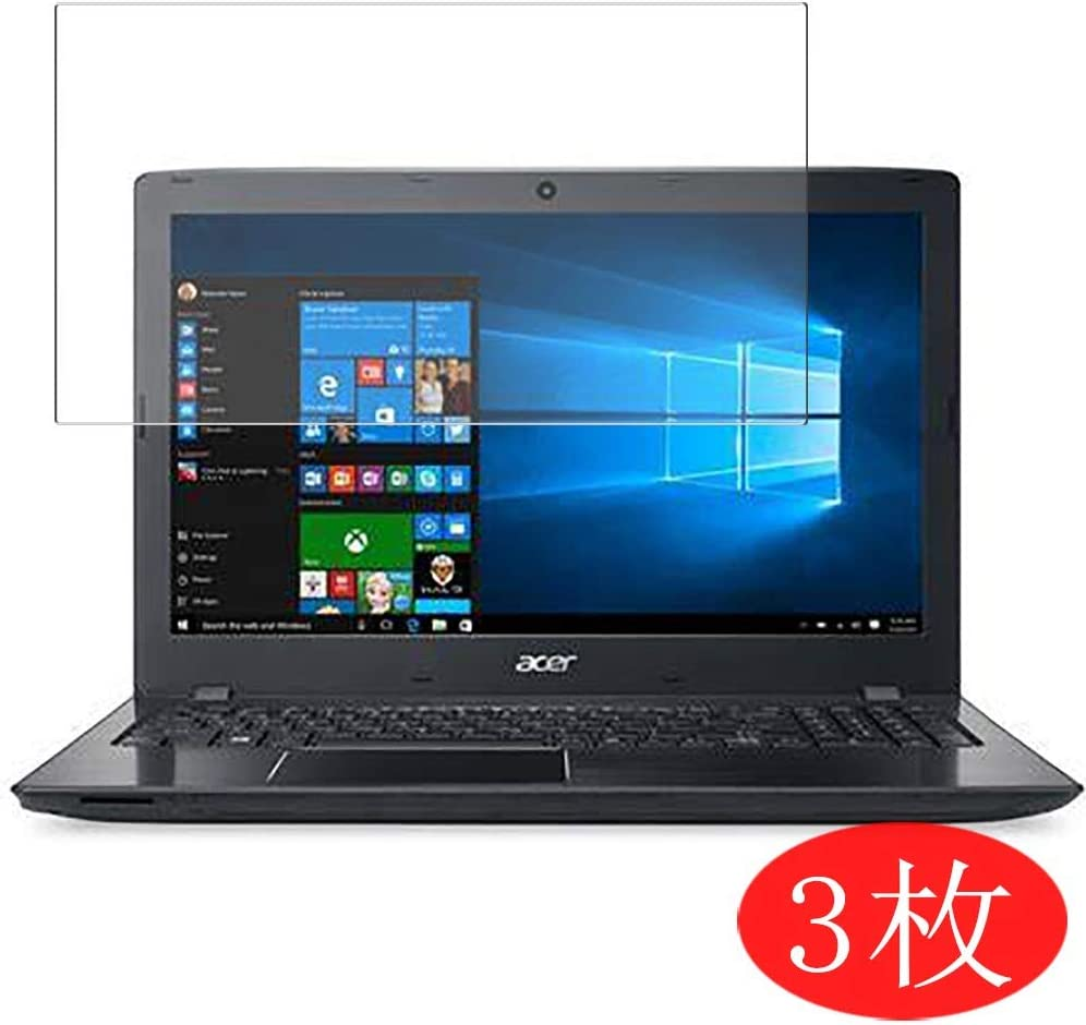 "【3 Pack】 Synvy Screen Protector for Acer Aspire E5-574 / E5-574G / E5-574T / E5-574TG 15.6"" TPU Flexible HD Film Protective Protectors [Not Tempered Glass]"