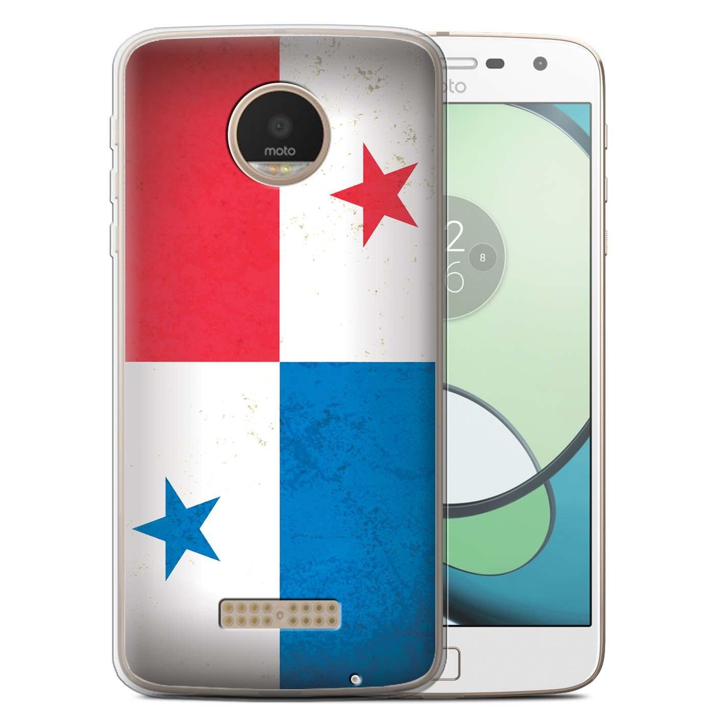 Stuff4® Carcasa/Funda TPU/Gel para el Motorola Moto Z Play ...
