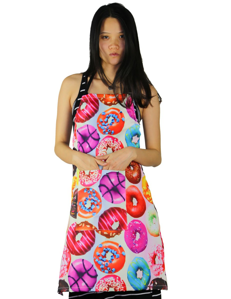 FYDELITY KITCH-O'LICIOUS- Apron: PRINT Donuts by FYDELITY