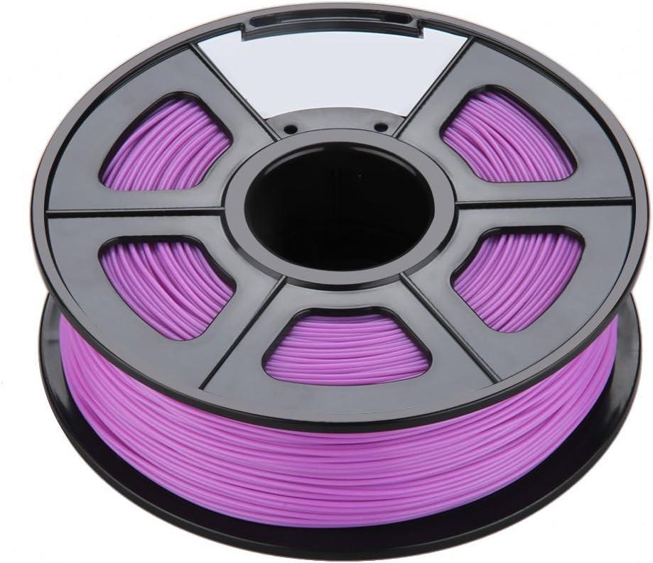 SODIAL (R) brilla en la oscuridad Bobina de filamento de impresora ...