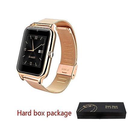 Amazon.com: Lujo reloj inteligente Z50 Hombres Mujeres ...