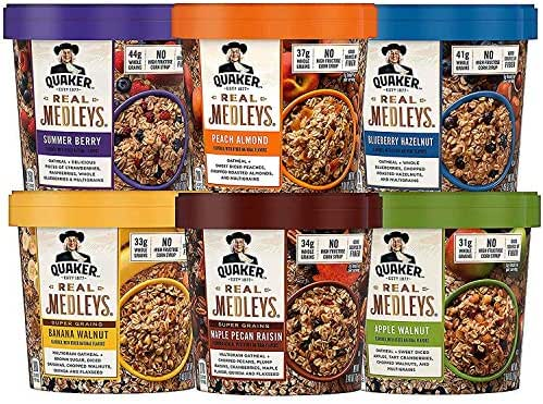 Oatmeal: Quaker Real Medleys