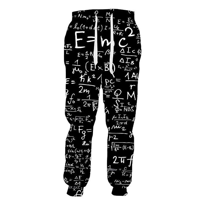 SETHKLEW - Pantalones de chándal para Hombre y Mujer, diseño de ...