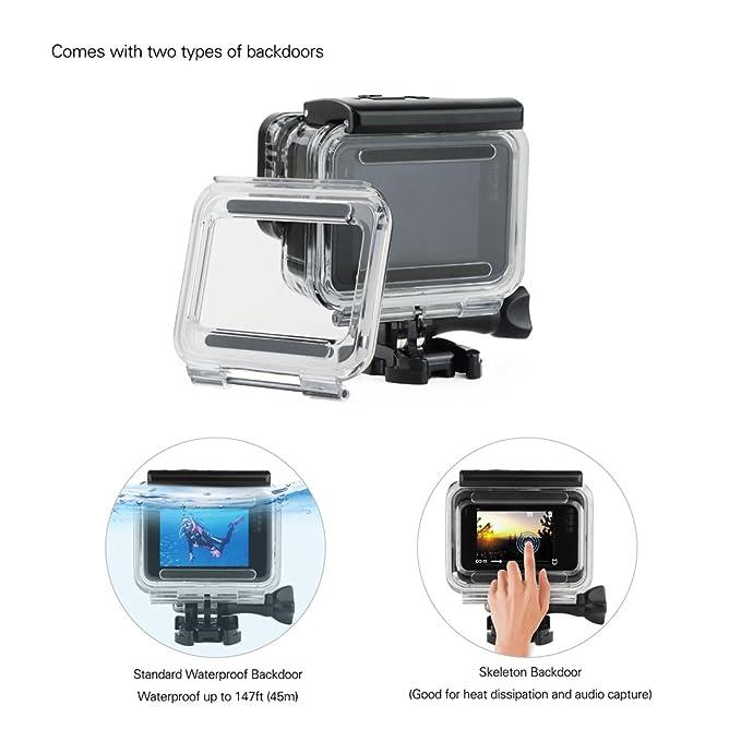 CARCASA de montaje en marco de borde negro estándar Soporte /& Hebilla para GoPro Hero 5 6 Reino Unido