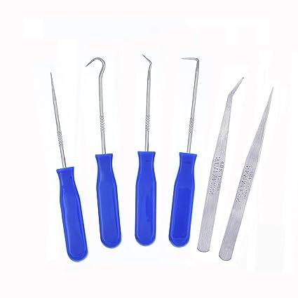 Amazon.com: 6 piezas acero inoxidable precisión Craft vinilo ...