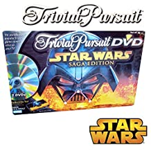 Toys R Us Exclusive Star Wars Saga Edition Trivial Pursuit DVD in Collectible Tin
