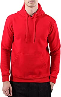 RoxZoom Men's Hooded Sweatshirt, Super Soft Long Sleeve Pullover Active Hoodie with Front Pocket