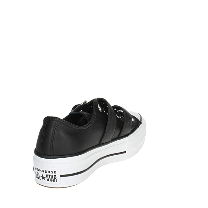 d2aaedb81ed8ab Converse Women s s Chuck Taylor CTAS Lift Buckle Ox Low-Top Sneakers   Amazon.co.uk  Shoes   Bags