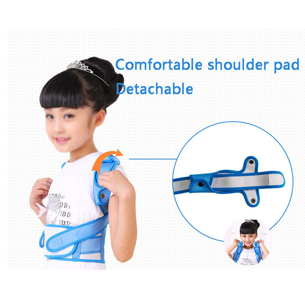 WBBJZBD Anti-Humpback Correction Belt, Child Student Spine Correction to Correct Hunchback Sitting Back Straight Back Anti-Humpback Correction Belt (Size : S (Waistline:54-64cm)) by WBBJZBD (Image #5)