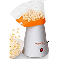 TWOBIU Hot Air Popcorn Popper w/FDA Approved