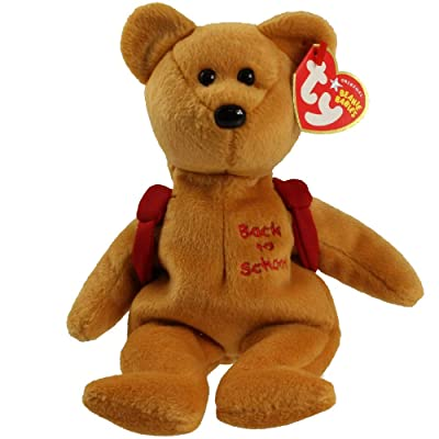 Ty Beanie Babies Books - Bear Red Backpack: Toys & Games