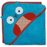 Skip Hop Zoo Hooded Towel, Otis Owl, Multi
