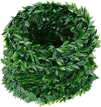 7.5 M de hiedra artificial guirnalda hoja verdes mil usos ...