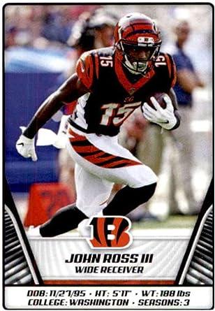 Amazon.com: 2019 Panini NFL Stickers Football #119 John Ross III ...