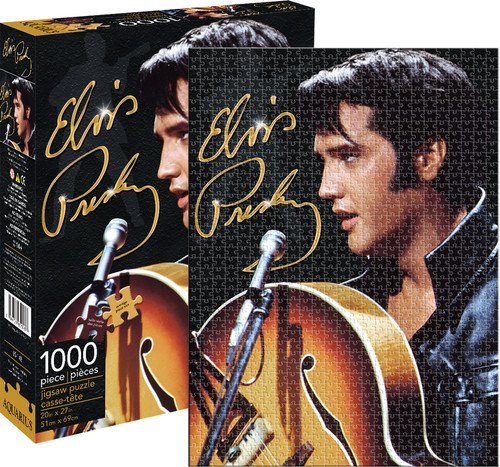 - Aquarius Elvis '68 1000 Piece Jigsaw Puzzle