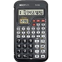 Hoopson PS-105A, Calculadora Cientifica, 56 Funções, 10 Dígitos, Bateria, Preto