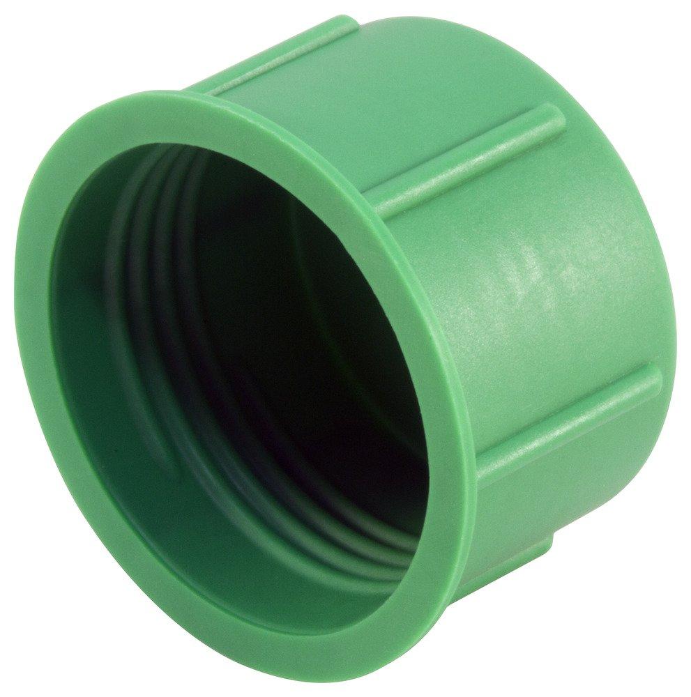 Green Pack of 200 Caplugs 99395421 Plastic Threaded Plastic Cap for Metric Fittings to Cap Thread Size M16 x 1.5 CD-M-16X1.5 to Cap Thread Size M16 x 1.5 PE-LD