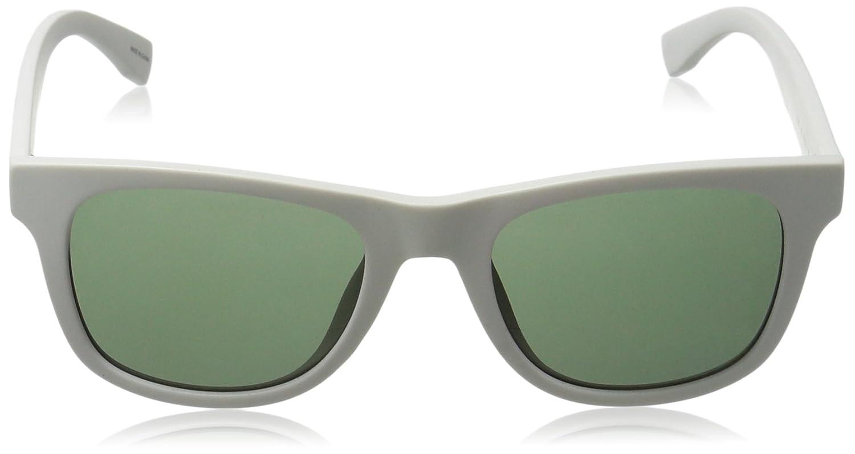 Lacoste Wayfarer lunettes de soleil Style en blanc mat L790//S 105 52