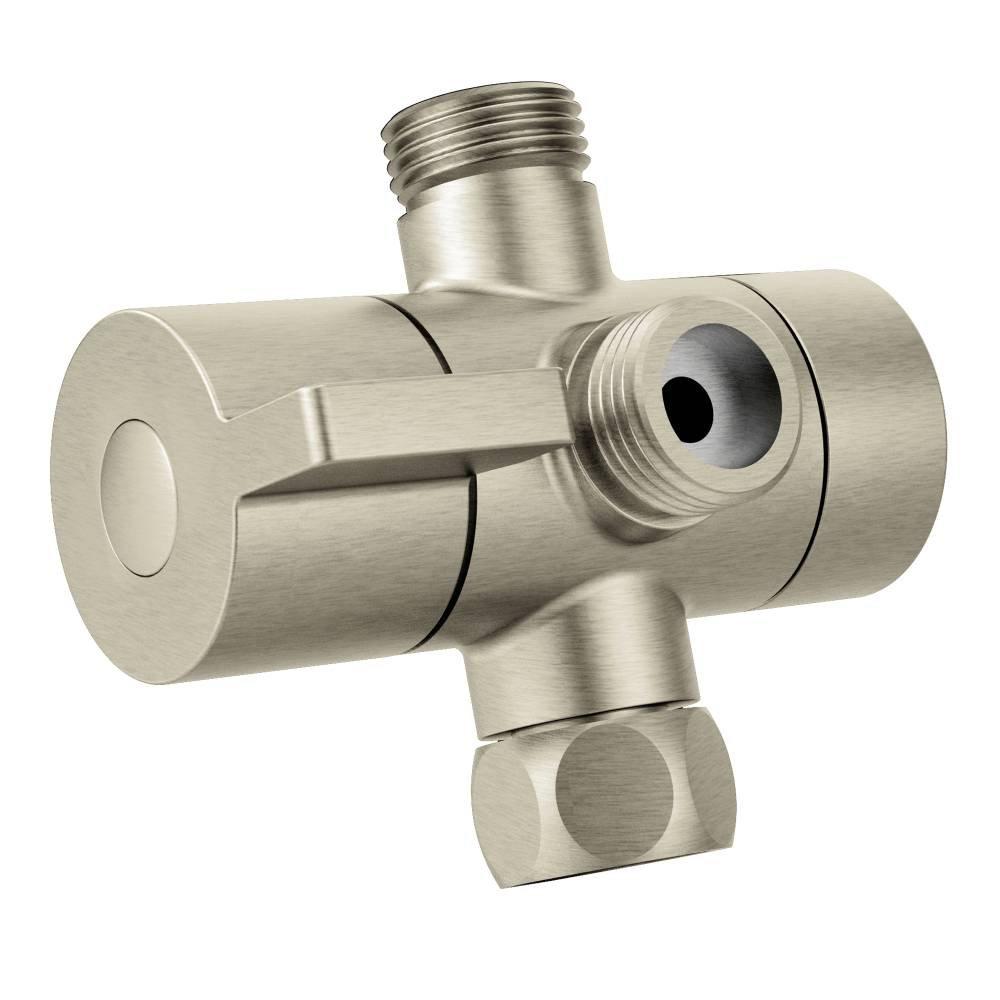 Moen CL703BN Shower Arm Diverter, Brushed Nickel - - Amazon.com
