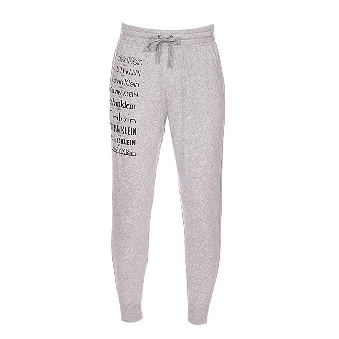 Calvin Klein - Pantalón de Pijama - para Hombre Gris Small