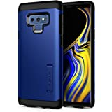 Spigen Tough Armor with Extreme Shockproof Protection and Integrated Kickstand Designed for Galaxy Note 9 Case Cover (2018) - Blue